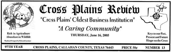 cross_plains_review_2005_06_16_masthead