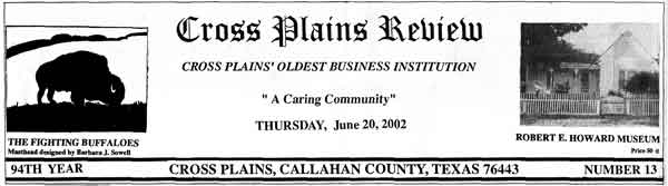 cross_plains_review_old_masthead